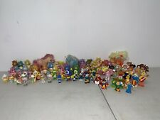 Care Bears And Other Vintage Figures Lot Of 88