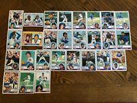 1983 CHICAGO CUBS Topps COMPLETE Baseball Team Set 27 Cards SANDBERG RC JENKINS
