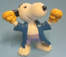 Schleich® 6 cm Snoopy als Boxer von Peanuts 1980 (Nr.14)