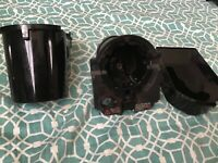 KEURIG 2.0 Coffee Maker K-Cup POD HOLDER and BASE Replacement Parts K200-K500