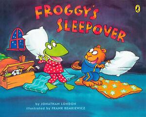 Froggy's Sleepover by Jonathan London (Laminated Hardcover) FREE shipping $35