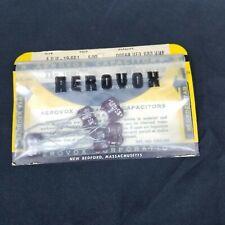 Aerovox Ceramic Capacitor Set of Five Adm 19-681 500 Volt 0.00068 µF Mfd 680 Mmf