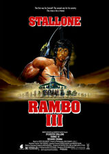 Rambo III - Kinoposter DIN A1 - Sylvester Stallone
