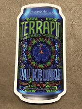 TERRAPIN CRAFT BREWING COMPANY LUAU KRUNKLE IPA BEER BREWERY STICKER ATHENS, GA