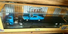 M2 MACHINES AUOT-HAULERS 1956 FORD C-500 COE & 1970 FORD MUSTANG BOSS 302 R-16