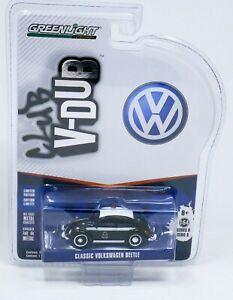 Greenlight 1:64 V-DUB Volkswagen VW Classic Beetle POLICE CAR MOC