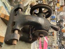 1900's Vintage Locksmith Key Cutter Tool yale & towne Usa Auto Padlock Antique!