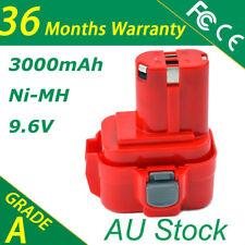 9.6V 3.0Ah Battery For Makita 9120,9122 Drill 6207D 6222D 6226D 6260D 6261D AU