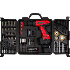 Cordless Drill w/ 89-Piece Project Kit Stalwart 18-Volt Drill Set Power Tool Set