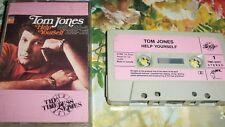 TOM JONES HELP YOURSELF  VINTAGE AUDIO TAPE CASSETTE