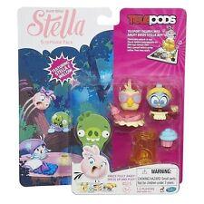 Angry Birds Stella Fiesta De Pijamas Pack & Treats Pack con Stella y Willow