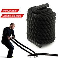 9m 12m 15m Battle Power Rope Battling Exercise Fitness Bootcamp Training Gym UK