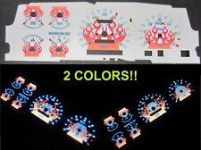 93 94 Mazda B2300 B3000 B4000 Ranger Explorer White Face Flamed Glow Gauges