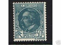 """FRANCE STAMP TIMBRE 1933 Y&T 291 """" ARISTIDE BRIAND """" NEUF xx  TTB"""
