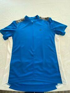 PEARL iZUMi SELECT Series Cycling Jersey Short Sleeve Shirt Men's XL XLarge Blue