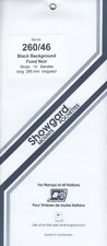 Showgard Long Stamp Mounts 260/46 US Vending Booklets Black 10 Units