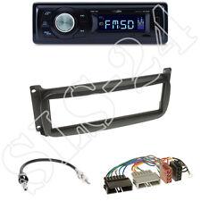 Caliber rmd021 radio + Chrysler/Dodge 1-din diafragma negro + ISO-adaptador set