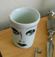 Woman Face Mug Cup Whimsical Lucille Ball Looking