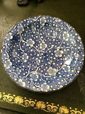 Antique chinese old porcelain hand painting flower  Plate Signed