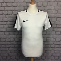 NIKE MENS DRI FIT ACADEMY 18 TRAINING TOP WHITE SHORT SLEEVE TSHIRT