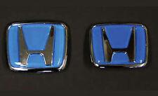 H-CP-BL Emblem JDM Type R Acura For Honda Civic Integra Accord RSX Badge 88-00