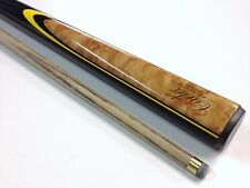 Quality CUETEC Pool Snooker Billiard Cue POWERBOND Ash Shaft Black yellow flame