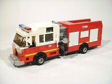 LEGO Custom Modular Building - American Fire Truck - ONLY PDF INSTRUCTIONS!