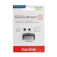 SanDisk Ultra 32GB Dual USB Typ C 3.1 Speicherstick für Samsung Galaxy S9 Plus