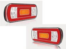 LED-Rückleuchten-SET für Anhänger, Wohnwagen, Fahrradträger, Boot - wasserdicht