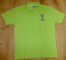HARLEQUINS RUGBY-Quality Polo Shirt-Cotton-QUINS GREEN-XLARGE-Embroidered NEW