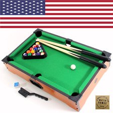 20″ POOL BILLARD TABLE Tischaufsatz US ORIGINAL mini Billiard Set Party ~ads2