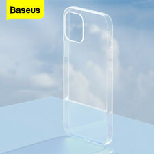 BASEUS Case Cover Transparent ShockProof Soft Thin for iPhone 11 12 mini Pro Max