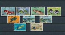 LM93585 Anguilla christmas fish shell coral fine lot MNH