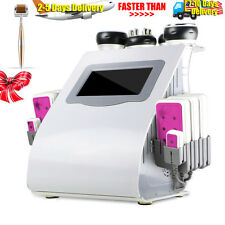 6in1 Ultrasonic Cavitation RF Radio Frequency Vacuum Slimming Cellulite Machine