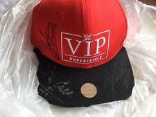 Signed Autographed AJ Styles Kalisto Sin Cara WWE VIP Experience baseball hat