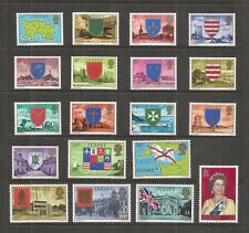 JERSEY 1976-80 PARISH ARMS AND VIEWS  SG,137-155 UM/M N/H LOT R867