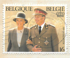 1995 Belgium stamp with royalty theme - see scan