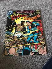 SUPERMAN VS. MUHAMMAD ALI RARE TREASURY SIZED COMIC RARE LOWER GRADE SEE PICS