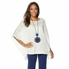 N Natori Lace Caftan Top with Camisole 536-580