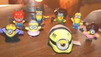 McDonalds Minions 2 The Rise of Gru Happy Meal Toys Lot
