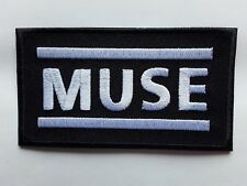 MUSE ENGLISH ALTERNATIVE HEAVY PUNK ROCK MUSIC BAND EMBROIDERED PATCH UK SELLER