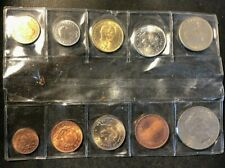 Old Colombia Coin Lot - UNCIRCULATED 1960s Set - Lot #D1