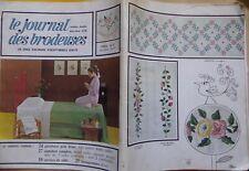 § album ancien LE JOURNAL DES BRODEUSES HS n° double 13/14 - 1969 - grand format