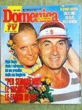 La Domenica del Corriere 13 luglio 1989 Merola Franchi Mafia Luna Hefner Playboy
