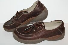Rogue Oxford / Casual Shoes, Brown, Leather, Men's US Size 11