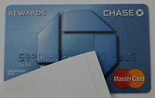 Expired Chase Bank Rewards Master Card Credit Card