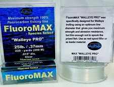 """100% Fluorocarbon Fishing Line: FluoroMAX """"WALLEYE PRO"""" by Montana Tackle"""