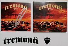 Tremonti Dust SIGNED autographed CD album Digipack Limited Edition pick sticker