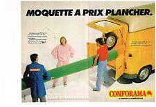 Publicité Advertising 1979 (2 pages) Les magasins Conforama