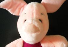 Disney Plush Piglet Winnie the Pooh Friend Walt World Soft Fuzzy Clean Pig